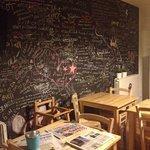 Breakfast room inside