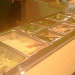 たくさんの新鮮サラダが1回取り放題!!
