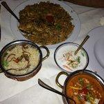 My pics in Indian Taj Restaurant (LN)
