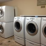 Free washers and dryers.
