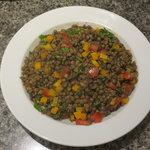 salade de lentilles aux épices