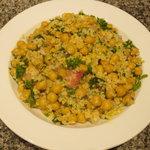salade de boulghour et pois chiches