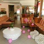 Pink hall