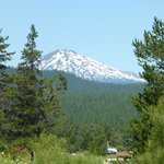 The best view of Mt Bachelor from resort!