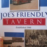 Menu ....Joe's Friendly Tavern
