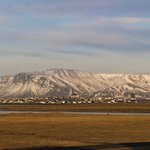 View of Reykjavik from the President's house.