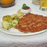 la Wiener Schnitzel - di manzo!