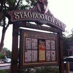 Stagecoach Inn - Sign