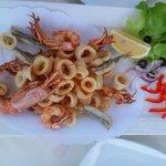 il fritto di pesce...che buono!!