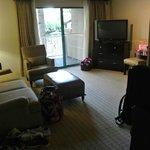 Cabana Suite Living