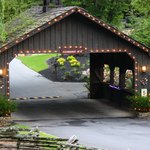 Cedar Falls Resort Covered Bridge