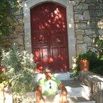 une porte du village