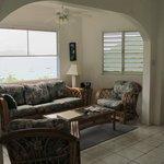 Living room area, Unit P