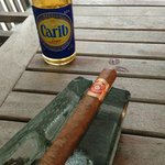 Carib and a Cuban, the perfect pair!