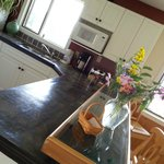 Kitchen in main B&B is accessible to all