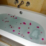 Surprise bubble bath