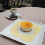 Dessert bien présenté, reste a déguster après un repas sans faute!