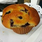 blueberry muffin - melts in your mouth