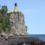 Splitrock Lighthouse is a few mins drive away and a great tour!