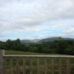 View from Escape Lodge (Weather permitting)