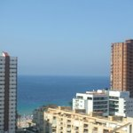Front view - Levante beach