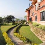 Giardino a est del Planet Bhaktapur