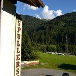 View From Room 16 Gasthof Spullersee