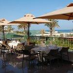 Terrasse restaurant vue mer