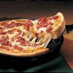 Deep Dish Cheese & Tomato