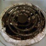 the burnt oven burner