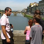Florence with Paul