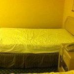 Old sunken mattress