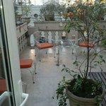 terraza exclusiva de la habitación