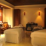 Treatment suite at Karma Spa