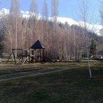 Parque onde ficam as cabanas