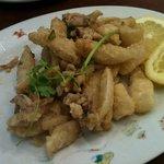 Yummy salt and pepper calamari