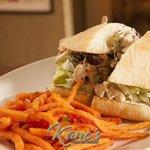 Kane's Waldorf Salad Sandwich