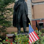 Andrew Johnson statue commissioned by his Great-Granddaughter