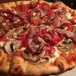 """The """"Brick Oven"""" Pizza"""
