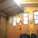 Inside the Sourdough Cabin