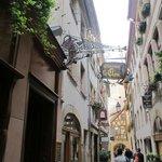 On A Little Side Street in Strasbourg