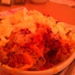 Bacon potato cheese skillet - excellent
