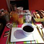 Breakfast in Hotel Azur