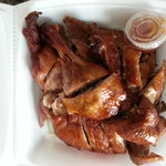 Half of a roast duck for ~$12.00