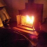 Cool Night Air Makes in-room Fireplaces a Welcome Touch