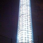 washington monument with scaffolding