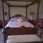 Comfy old style bed