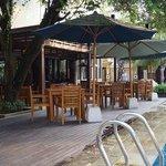 Dining Area Near Pool Side