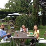 Chilling out at the Kings Arms