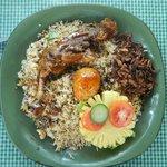 Chicken Buriyani of Garden Cafe